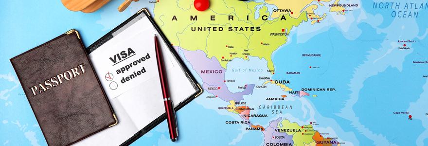 Réalisation des démarches de visas